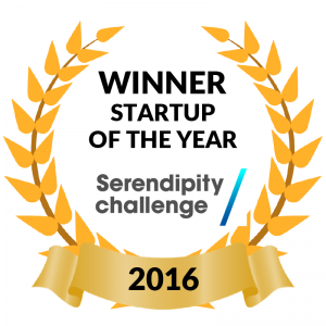 Startup of the year Serendipity Challenge 2016