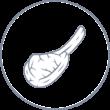 meat production icon transparent